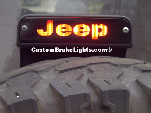 Jeep Renegade Third Brake Light Cover Custom Jeep Brake